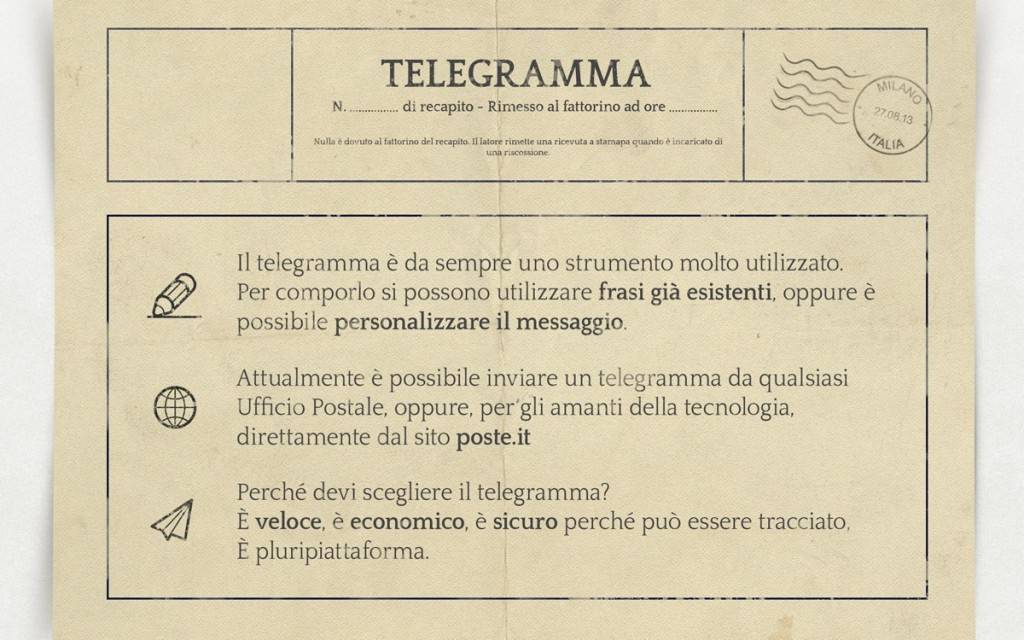 Frasi Matrimonio Telegramma.Vodafone Telegramma Telefonico