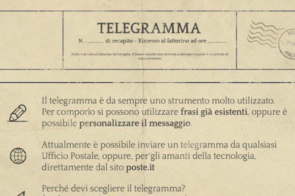 fare un telegramma con vodafone