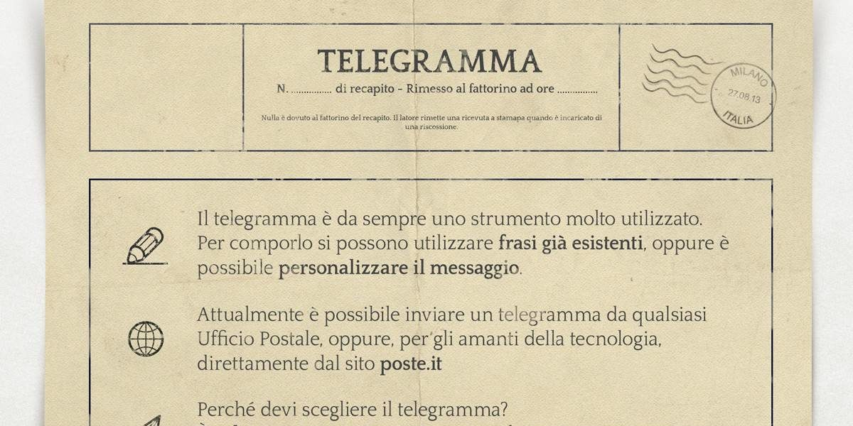 Vodafone telegramma telefonico
