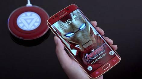 Samsung Galaxy S6 - Iron Man Edition!