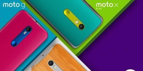 Nuovi Motorola Moto G e Moto X