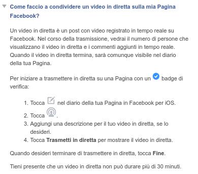 facebook-video-in-diretta