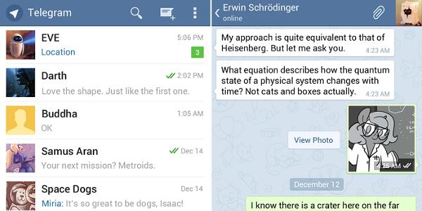 Come recuperare le chat di Telegram