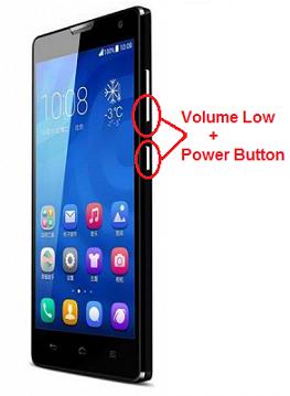 Come Fare uno Screenshot su Huawei