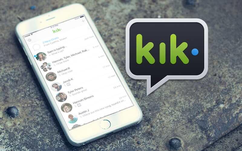 Come cancellare contatti Kik
