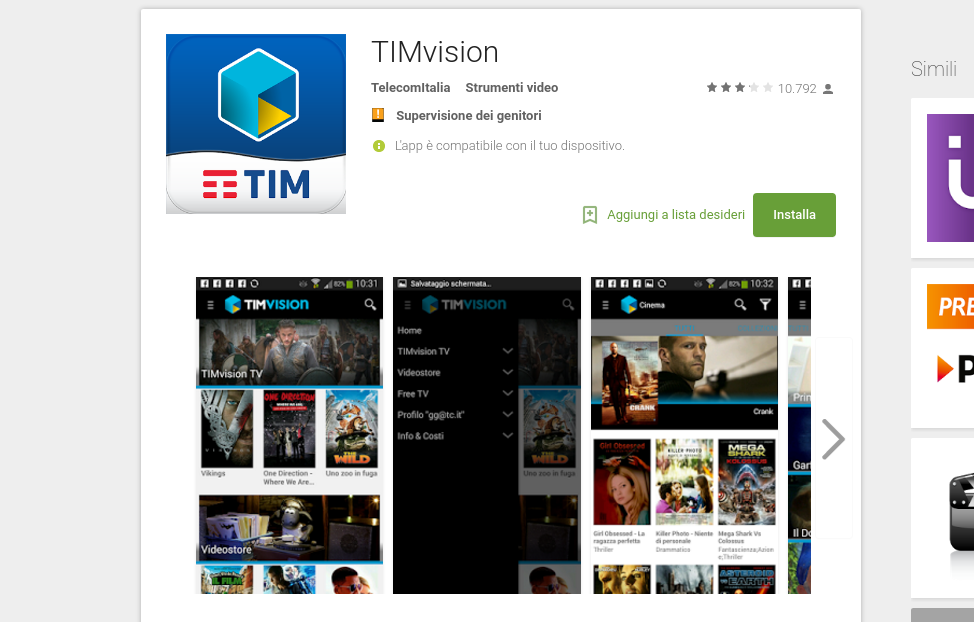 App Timvision