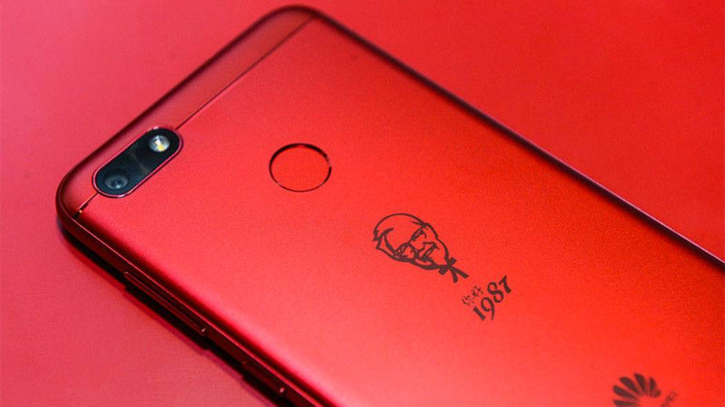 Huawei Kentucky Fried Chicken Smartphone, uno Smartphone ad Edizione Limitata