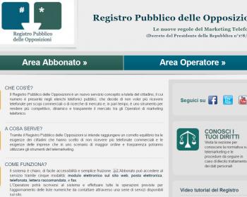 Registro delle Pubbliche Opposizioni