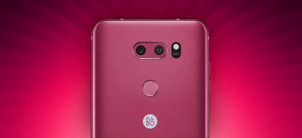 LG V30 Pink Raspberry Rose