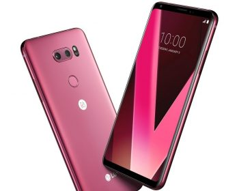 LG lancia LG V30 pink Raspberry Rose