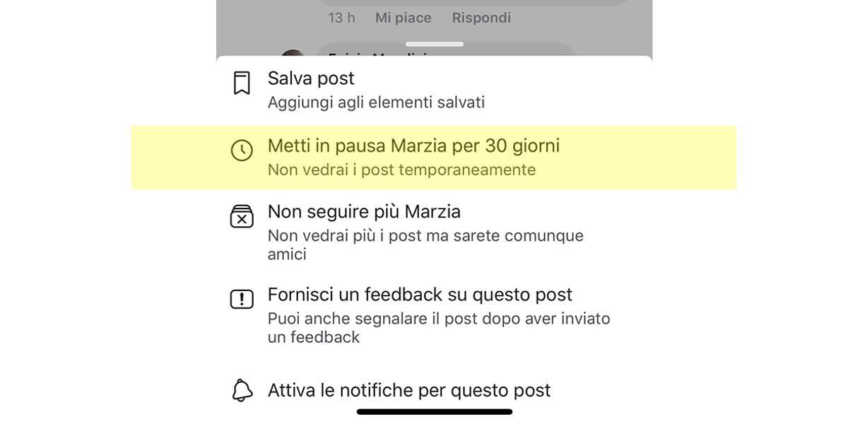 Mettere in pausa gli amici su Facebook per 30 giorni si può con la nuova beta dell'app.