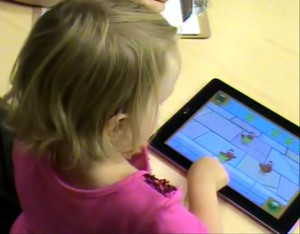Gli Smartphone usati dai bimbi