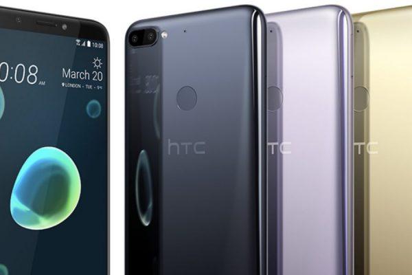 HTC Desire 12+ e HTC U12+