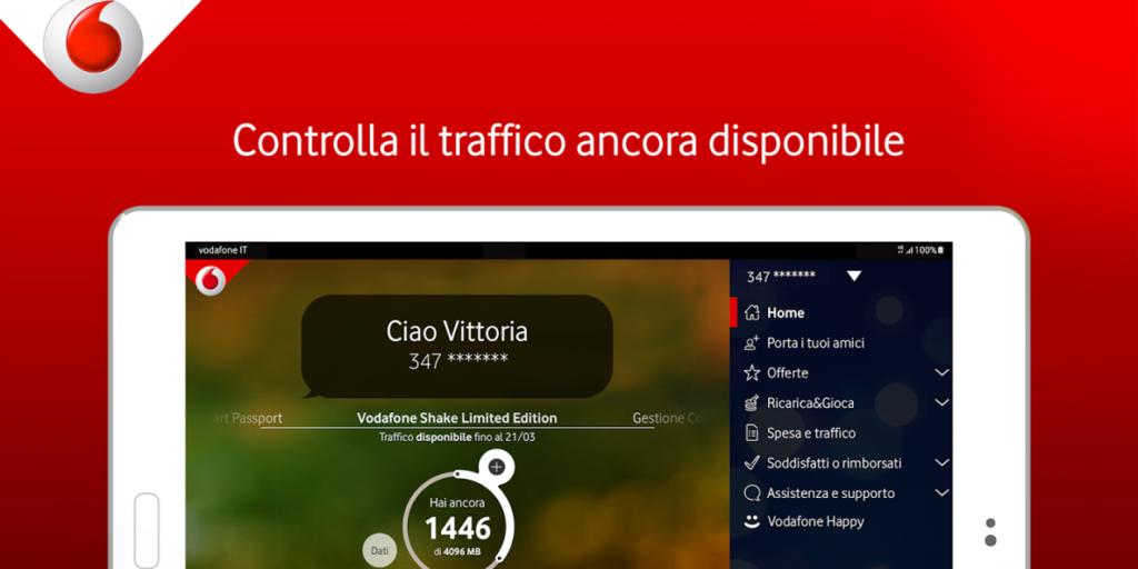 App My Vodafone Verifica Credito Residuo