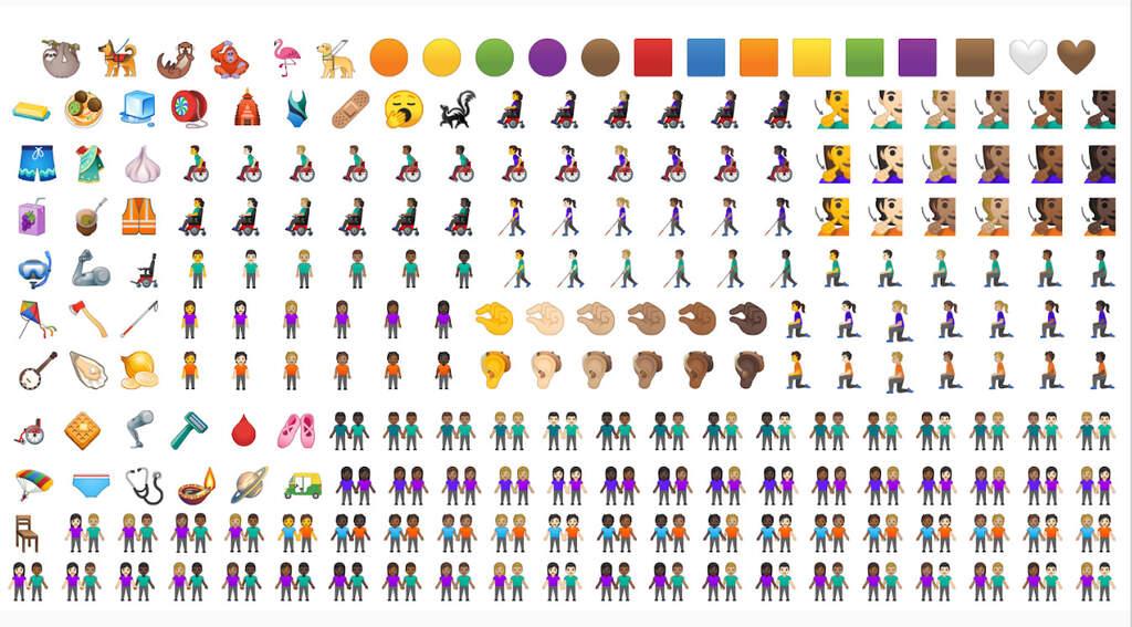 nuove emoji android-q