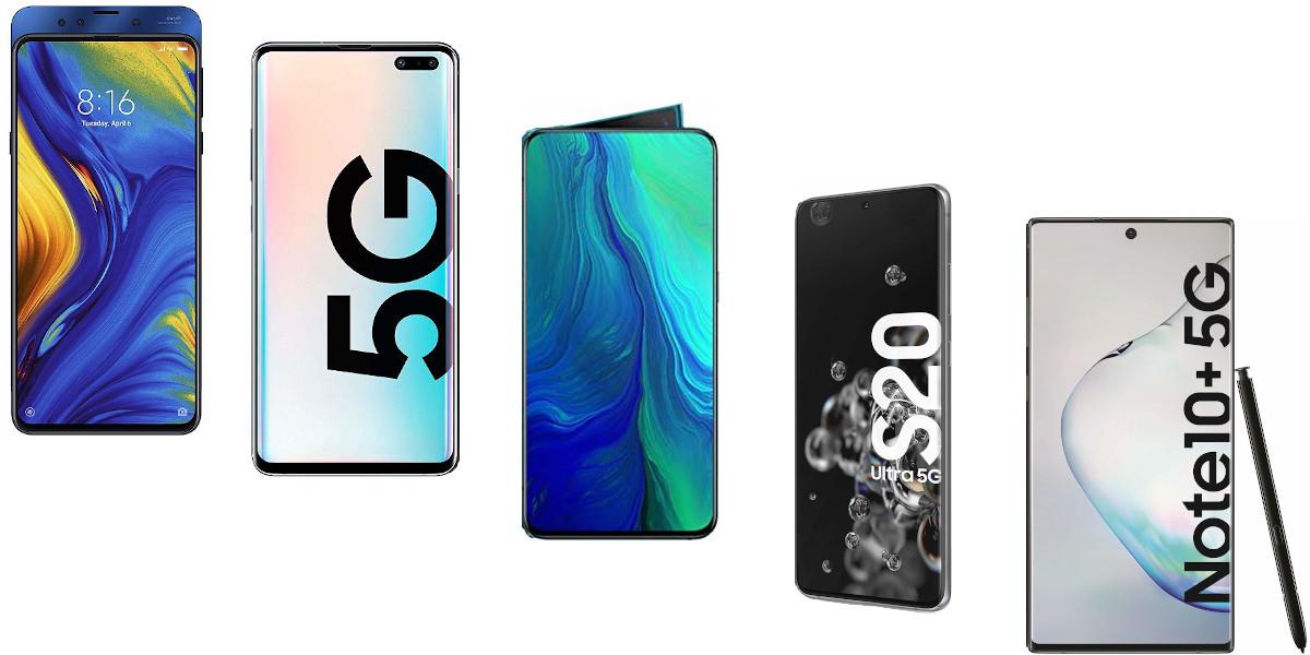 Quali sono gli smartphone 5G in commercio
